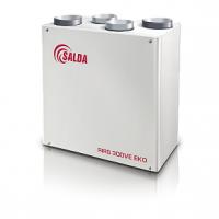 Суперкомпактная приточно-вытяжная установка Salda RIRS 300 VE ЕКО